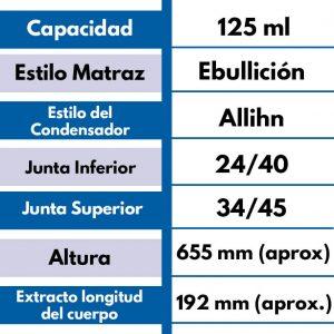 Equipo de extracción SOXHLET ES-125